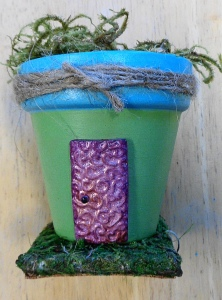 Make your own fairy house!